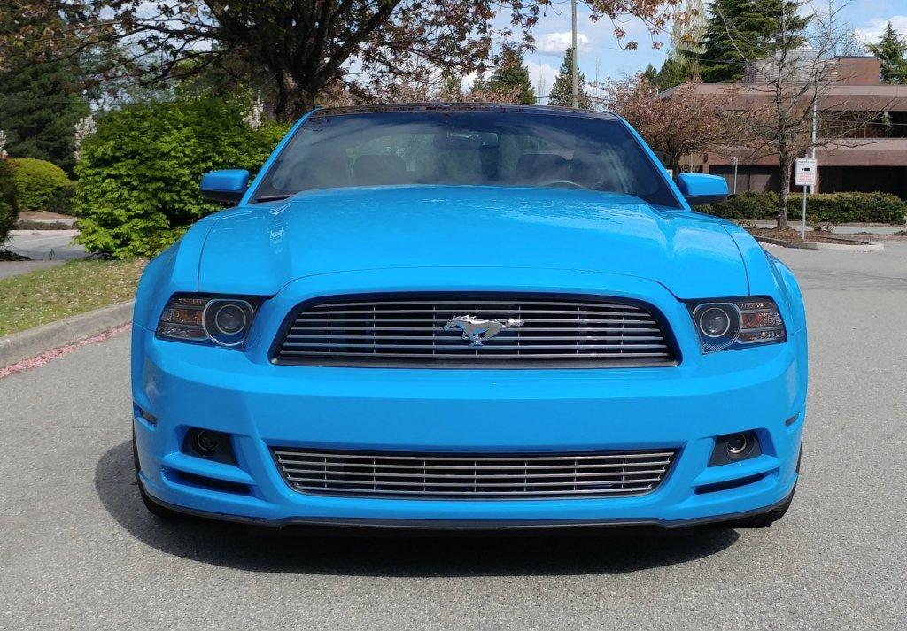 My Grabber Blue 2014 Mustang MCA Edition